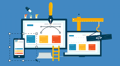 create a website for local marketing