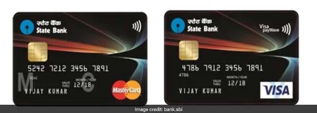 sbi paywave international debit card sample